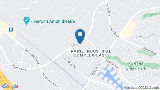 Residence Inn by Marriott Irvine Spectrum Map