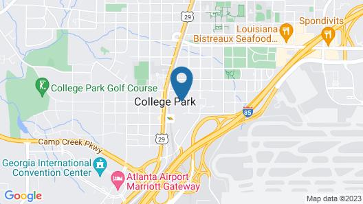 Hotel Indigo Atlanta Airport - College Park Map