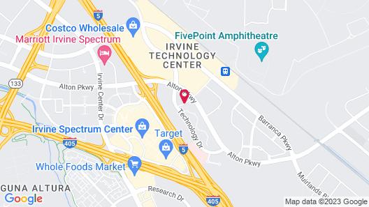 Extended Stay America - Orange County - Irvine Spectrum Map