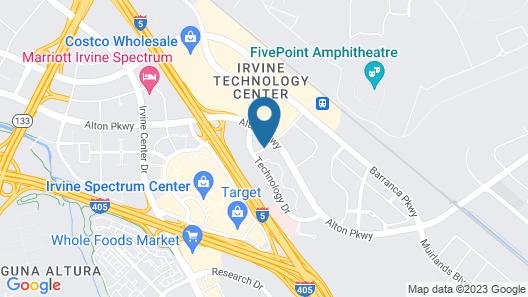 Extended Stay America Suites Orange County Irvine Spectrum Map