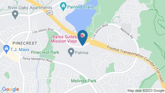 Ayres Suites Mission Viejo Map