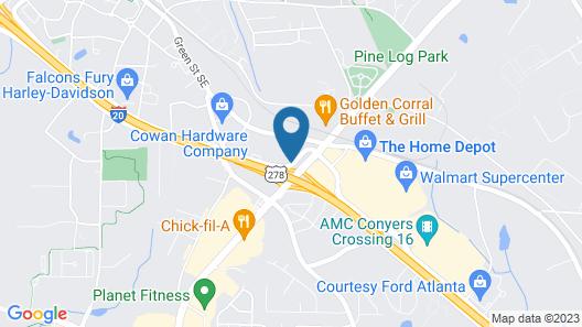 La Quinta Inn & Suites by Wyndham Atlanta Conyers Map