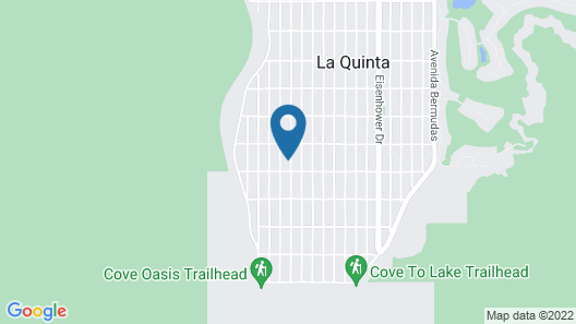 La Quinta Cove Hideaway W/ Private Pool 3 Bedroom Home Map