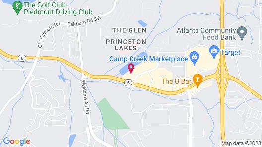 Holiday Inn Express Atlanta Airport West - Camp Creek Market Map