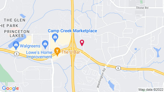 Four Points by Sheraton Atlanta Airport West Map