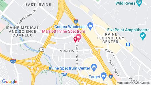 Courtyard Irvine Spectrum Map