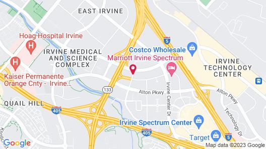 DoubleTree by Hilton Irvine - Spectrum Map