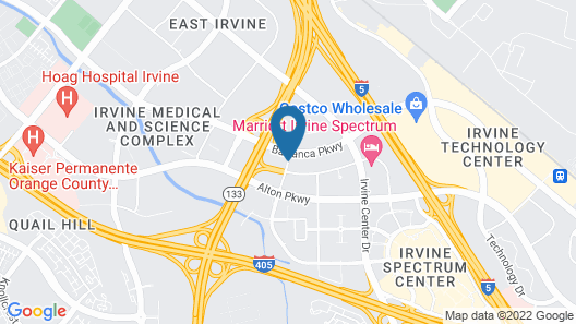 DoubleTree by Hilton Irvine - Spectrum Map