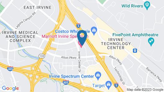 Marriott Irvine Spectrum Map
