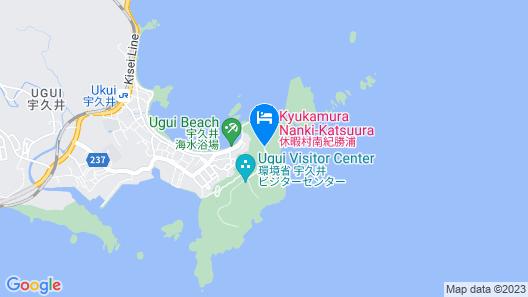 Kyukamura Nanki-Katsuura Map