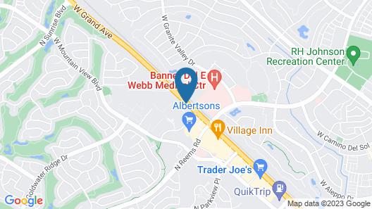 Hampton Inn & Suites Phoenix-Surprise Map