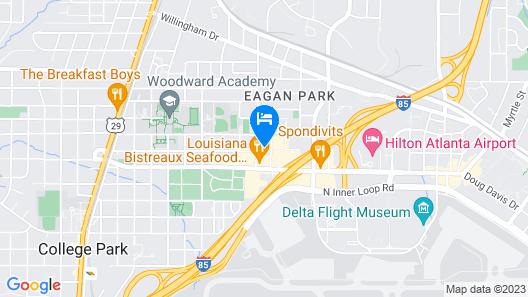 Country Inn & Suites by Radisson, Atlanta Airport North, GA Map