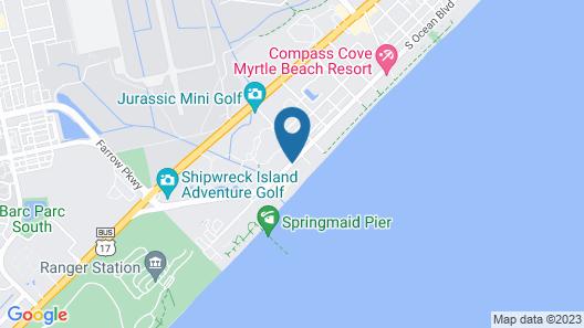 Crown Reef Beach Resort and Waterpark Map