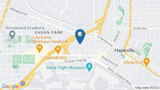Residence Inn by Marriott Atlanta Airport North/Virginia Ave Map