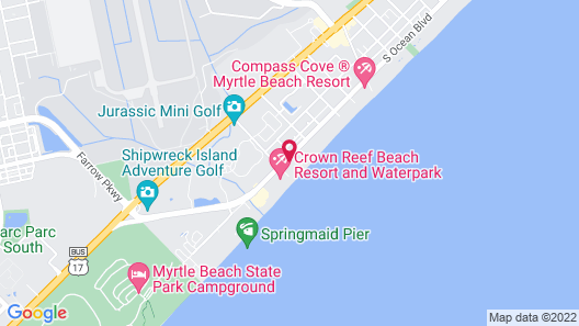 Sea Horn Motel Map