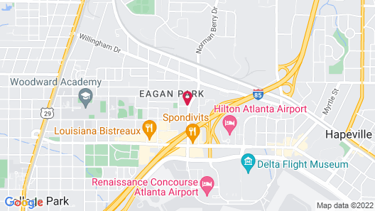 Fairfield Inn and Suites by Marriott Atlanta Airport North Map