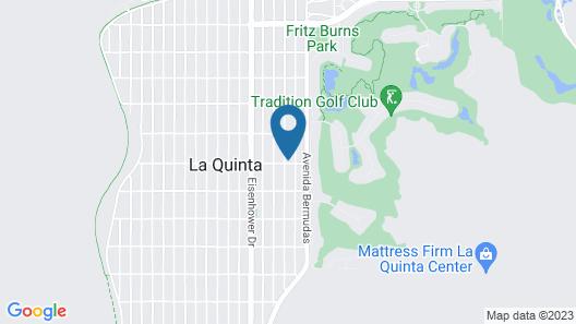 La Quinta Cove 2br/2ba Pool/ Jacuzzi And Patio 2 Bedroom Home Map