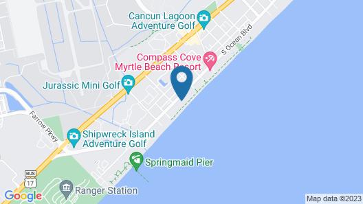Residence Inn by Marriott Myrtle Beach Oceanfront Map