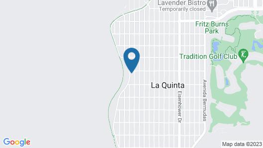 New Listing! La Quinta Cove Gem W/ Pool & Hot Tub 3 Bedroom Home Map