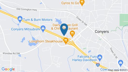Motel 6 Conyers, GA Map