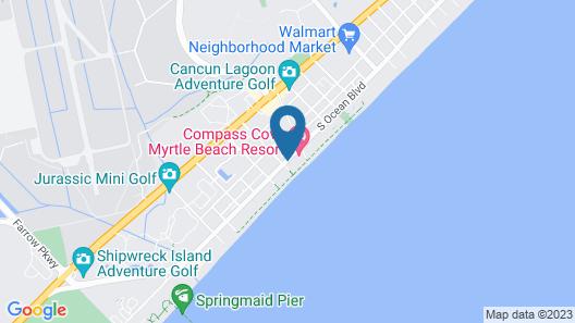 Compass Cove Resort Map