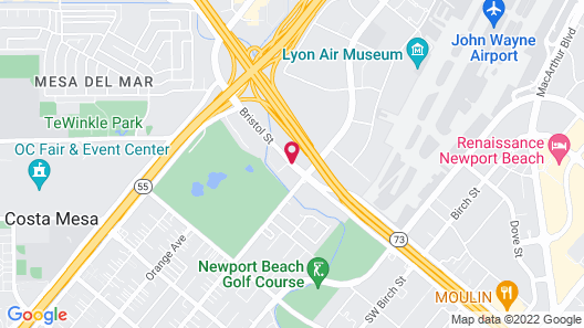 Travelodge by Wyndham Orange County Airport/ Costa Mesa Map
