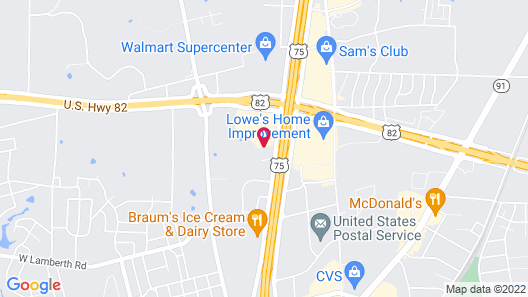 Holiday Inn Express Hotel & Suites Sherman Highway 75, an IHG Hotel Map