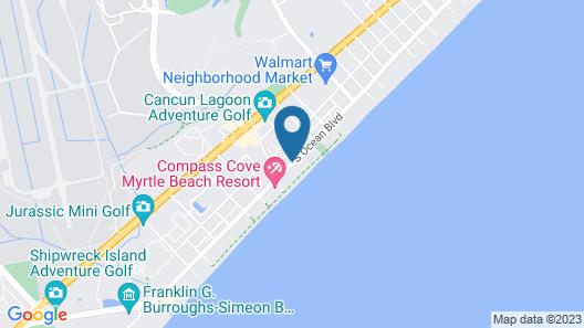 Mystic Sea Resort Map