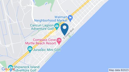Ocean Breeze Hotel Map