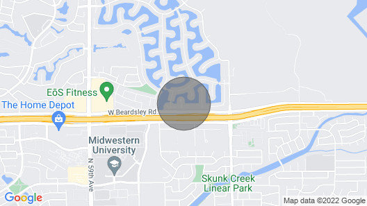 Oasis on the Lake, Easy Access to Interstate Map