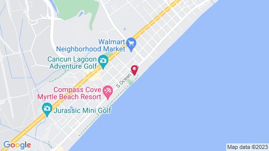 Southern Breeze Motel Map