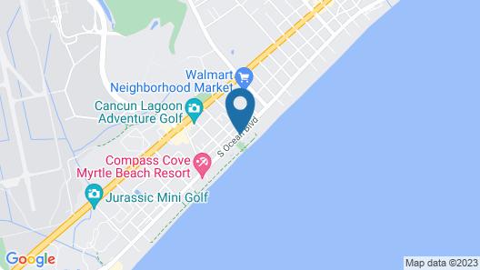 Ocean Park Resort by Oceana Resorts Map