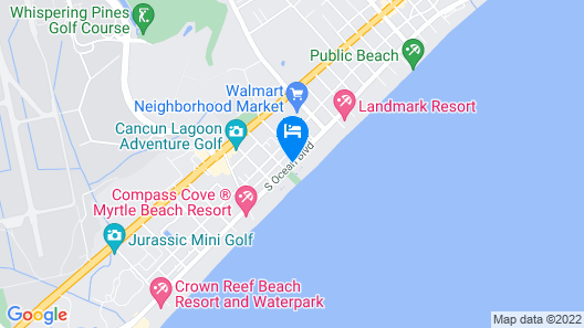 Ocean Park Resort by Vacasa Map