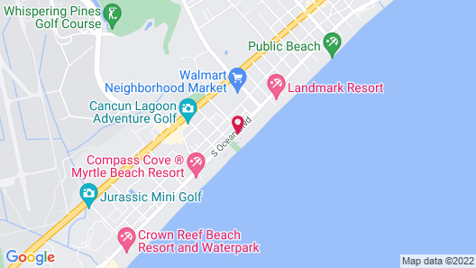 Summer Wind inn & Suites Map