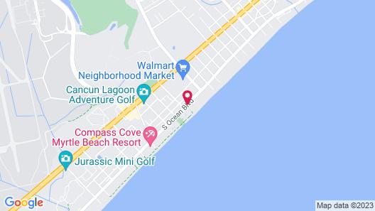 The Oceanfront Viking Motel Map