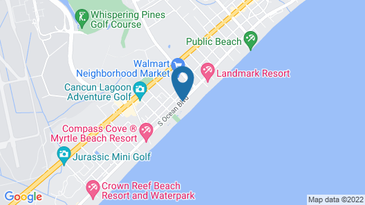 The Oceanfront Viking Motel Map