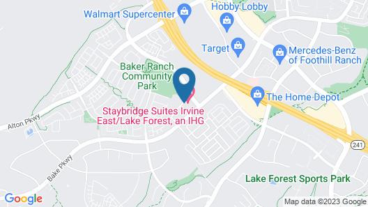 Staybridge Suites Lake Forest, an IHG Hotel Map