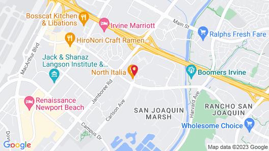 AC Hotel Irvine Map