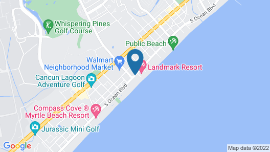 Wave Rider Resort Map