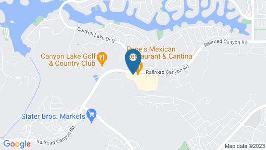 Rodeway Inn & Suites Canyon Lake I-15 Map
