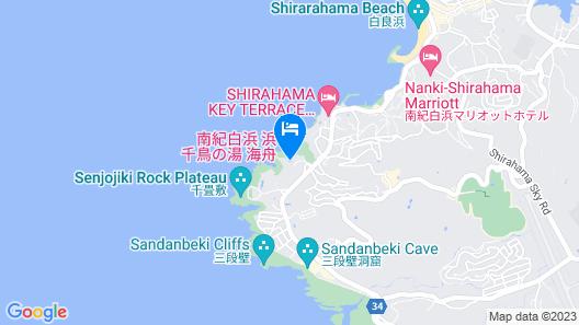 Hamachidorinoyu Kaisyu Map