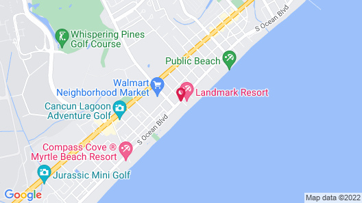 Palace Resort Map