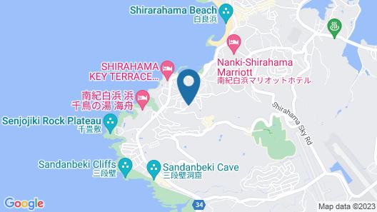 The Hotel Shirahama Onsen Map