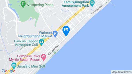Landmark Resort Map