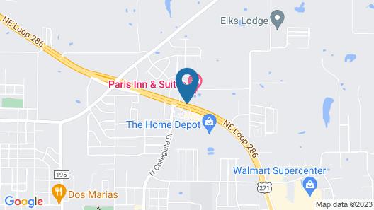 Paris Inn & Suites Map
