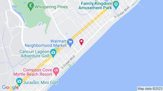 Waikiki Village Retro Hotel Map