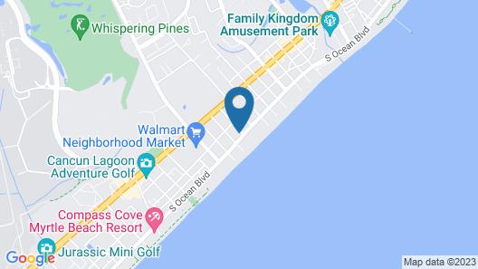 Ocean Escape Condos by Landmark Resort Map