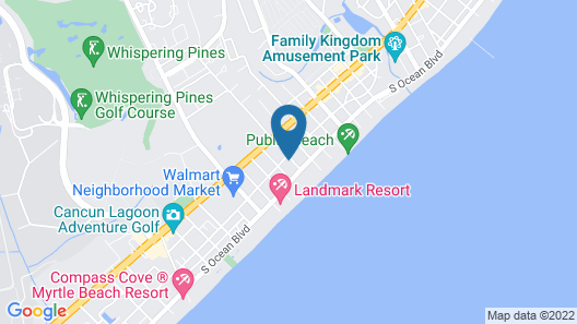 Driftwood and Tides Condos by Sea Mist Resort Map