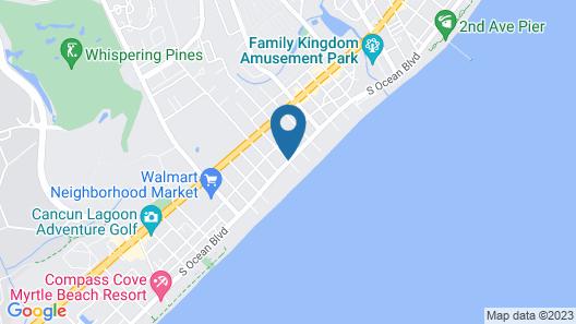 Blu Atlantic Oceanfront Hotel & Suites Map
