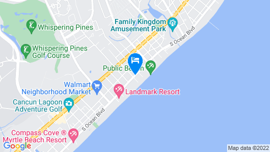 Coral Beach Resort Hotel & Suites Map